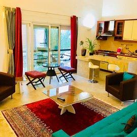 آپارتمان یک خوابه بنفشه1