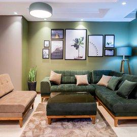آپارتمان دو خوابه گاندی